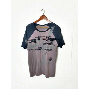 Armani Exchange A/X Raglan Short Sleeve T Shirt